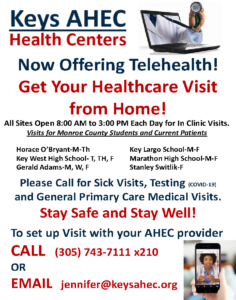 AHEC telehealth virtual appointments